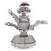 Disney Model Kit - Star Wars Metal Earth 3D Model Kit - Pilot Droid Rex