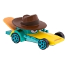 Disney Racers - Die Cast Car - Agent P -  Perry the Platypus
