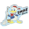 Disney Donald Duck Pin - Pirate Donald - Swab the Duck