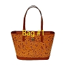 Disney Dooney & Bourke - Brown Leather Lovebirds Charleston Tote