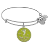 Disney Alex & Ani Bracelet - Tinker Bell Bangle Silver