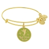 Disney Alex & Ani Bracelet - Tinker Bell Bangle Gold