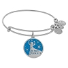 Disney Alex & Ani Bracelet - Elsa Bangle Silver