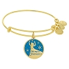 Disney Alex & Ani Bracelet - Elsa Bangle Gold