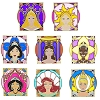 Disney Mystery Pin - Royalty Princesses - COMPLETE SET