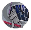 Disney Star Wars Pin - Star Wars Planets - #9 Coruscant