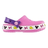 Disney Kids Crocs Shoes - Pink Light Up Minnie Icons