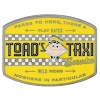 Disney Pin - Toad's Taxi Service Sign
