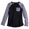 Disney LADIES Raglan Shirt - Rock 'n Roller Coaster