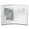 Disney Arribas Picture Frame - Cinderella Castle and Mickey Mouse - Glass