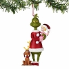 Universal Figurine Ornament - Dr. Seuss - Grinch, Cindy, and Max