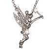 Disney Arribas Necklace - Tinker Bell with Wand