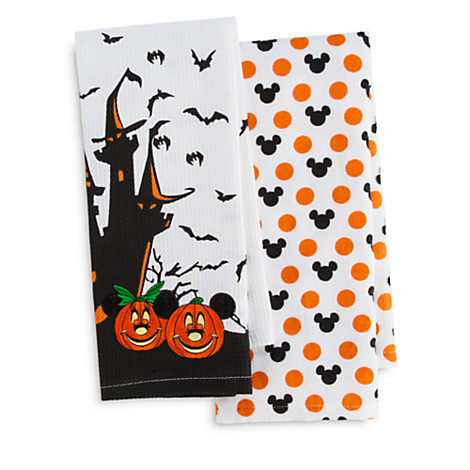 Your WDW Store - Disney Kitchen Towels - Halloween Mickey and ...