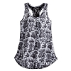 Disney Ladies Shirt - The Haunted Mansion Toile Tank