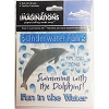 SeaWorld Scrapbooking Stickers - Rub On Decals - Discovery Cove