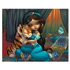 Disney Postcard - Jasmine Becket-Griffith - Jasmine & Rajah
