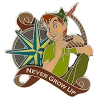 Disney Peter Pan Pin - Never Grow Up