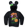 Disney GIRLS Hoodie - Minnie Witch Ear Hoodie for Girls