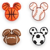 Disney MagicBand MagicBandits - Mickey Icon Sports - 4 Pack