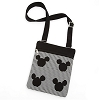 Disney Crossbody Bag - Mickey Mouse Icon Canvas Letter Carrier Bag