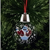 Rudolph LED Light-Up Ornament - Bumble In Santa Suit Holidazzler