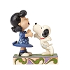 Peanuts by Jim Shore - Snoopy Kissing Lucy