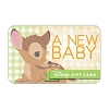 Disney Collectible Gift Card - Bambi - A New Baby