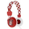 Disney Headphones - Minnie Mouse for Kids - Red