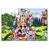 Disney Coloring Book - Walt Disney World Postcards Coloring Book