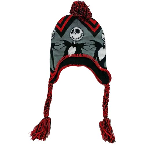 Your WDW Store - Disney Knit Hat - Nightmare Before Christmas - Jack Skelling...