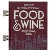 Disney Food & Wine Festival Pin - 2016 Passholder Chef Figment