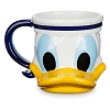 Disney Coffee Mug - Disney Cruise Line - Donald Duck Sculptured Mug