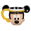 Disney Coffee Mug -Disney Cruise Line-Capt.Mickey Mouse Sculptured Mug