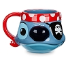 Disney Coffee Mug - Disney Cruise Line - Stitch Sculptured Mug