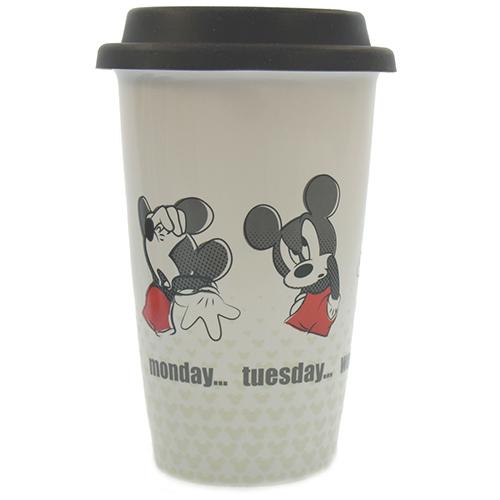 Your Wdw Store Disney Ceramic Travel Mug Mickey Monday