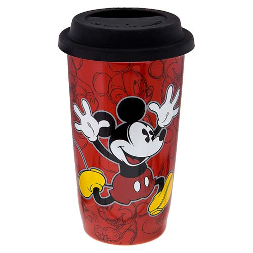 Your Wdw Store Disney Ceramic Travel Mug Mickey Mouse