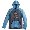 Disney Hooded Shirt - Mickey Mouse Long Sleeve Hooded Tee - Blue