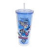 Disney Tumbler with Straw - Mickey Magic Kingdom 45th Anniversary