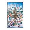 Disney Christmas Yard Flag Banner - Mickey and Friends Happy Holidays