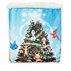 Disney Fleece Throw Blanket - Mickey and Friends Storybook Holiday