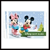 Disney Collectible Gift Card - Mickey & Minnie - Winter Skate
