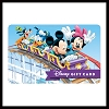 Disney Collectible Gift Card - Mickey & Pals - Crazy Coaster