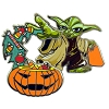 Disney Halloween Pin - Star Wars - Yoda Candy Force
