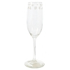 Disney Fluted Wine Glass - Mickey Mouse Icon - White - 9''