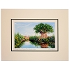 Disney Artist Print - Larry Dotson - Disney's Animal Kingdom from Harambe Village