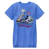 Disney Adult Shirt - Magic Kingdom 45th Anniversary Tee - Blue