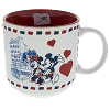 Disney Coffee Cup Mug - Mickey & Minnie in Love in Epcot Paris