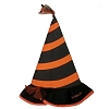 SeaWorld Hat - Halloween Spooktacular Striped Witch Hat