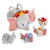 Disney Tsum Tsum Plush Set - Dumbo Small Tote 9 1/2