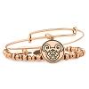 Disney Alex and Ani Charm Bracelet - Filigree Set Mickey Mouse - Gold
